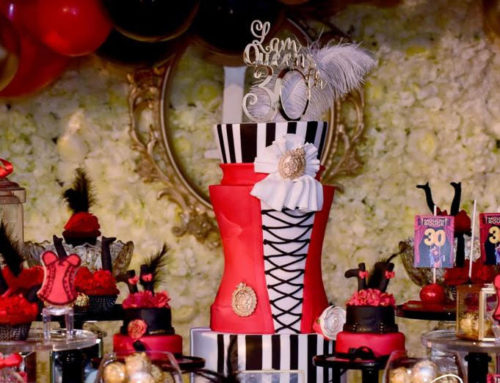 Moulin Rouge Milestone Birthday Party