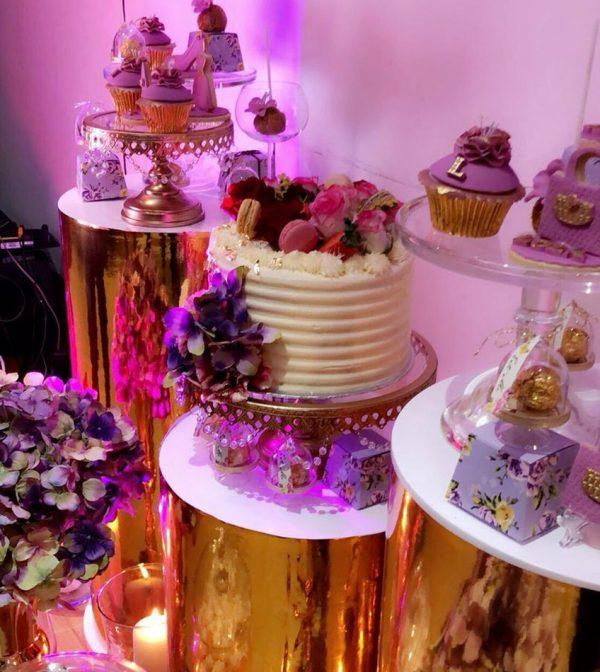 floral birthday theme
